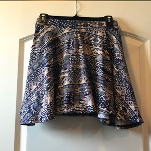 Rue 21 mini skirt women's medium stretch waist
